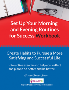 Routines for Success Workbook cover